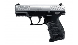 Pistole Walther CCP 9 mm x 19 stainless/black