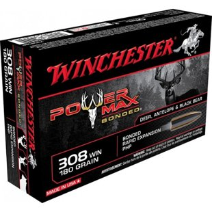 .308Win Winchester Power Max Bonded 180 gr