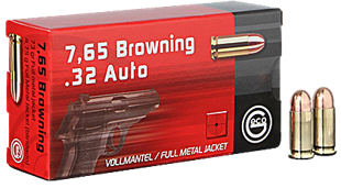 .32Auto Geco 4.75g Browning FMJ