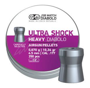 Lodītes JSB Ultra Shock Heavy 4.5mm