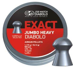 Lodītes JSB Diabolo Exact Jumbo Heavy 5.52mm