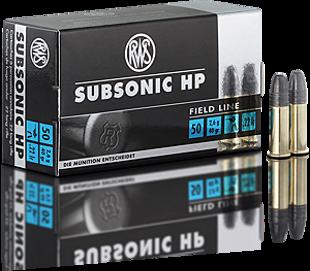 .22LR RWS 2.6g Subsonic