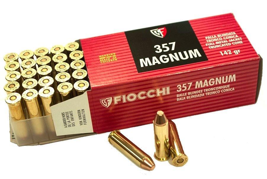 .357 Magnum Fiocchi 9.2g FMJTC